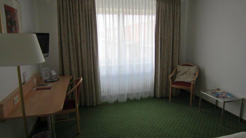 Blick in das Hotelzimmer