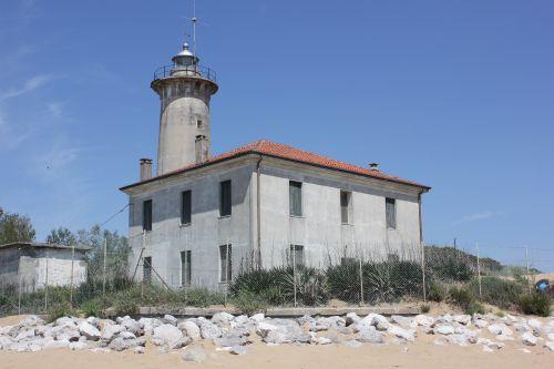 Leuchtturm in Bibione