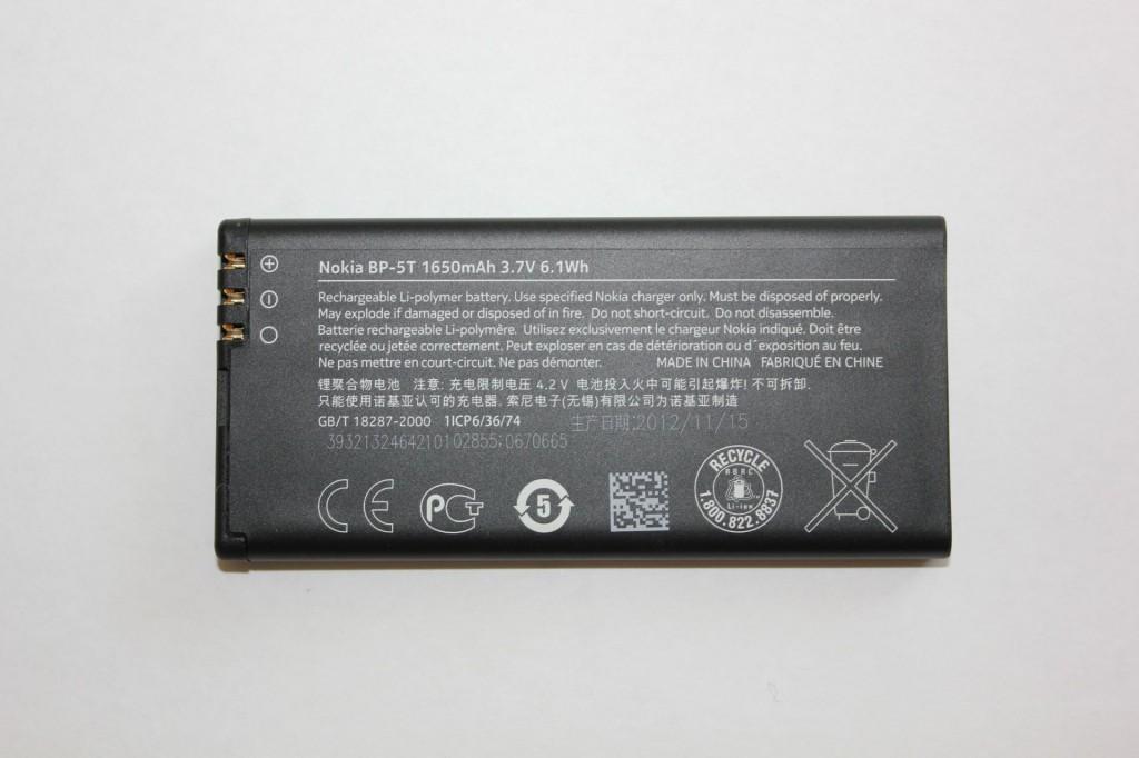 Nokia Lumia 820 Akku